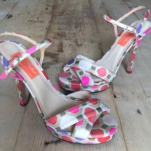 Kate Spade Florence Broadhurst Strappy Heels